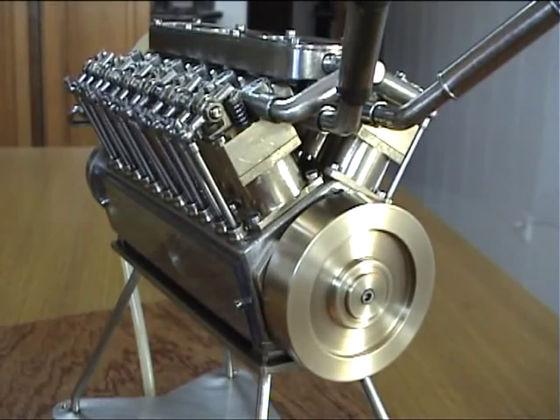 エンジンを自作なんて考えた事ありますか?いるんです世の中には!のサムネイル画像