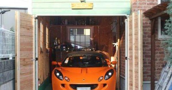 【ガレージ DIY】 自分で作るガレージ!おすすめ画像集のサムネイル画像